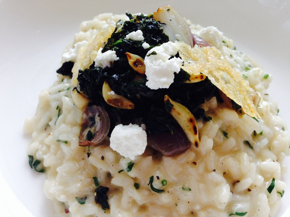 Goat Cheese Risotto