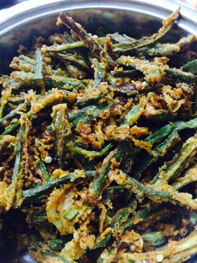 Made Kurkuri Bhindi twice in a week