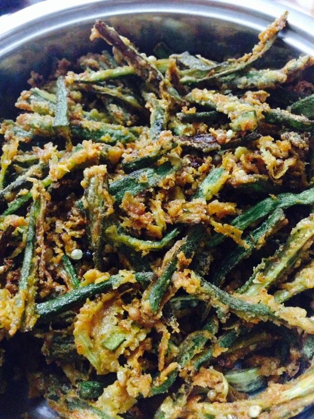 Made Kurkuri Bhindi twice in a week