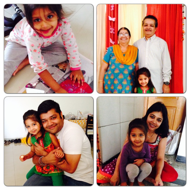 Had the most awesome time at Diwali with family :)