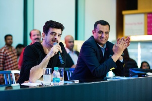 Jury- Palash Sen, Faiz Alam Anari- General Manager Aloft Bengaluru Cessn...