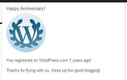 wordpress 7 years