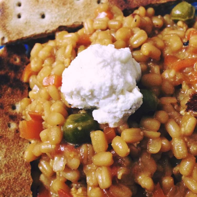 barley risotto